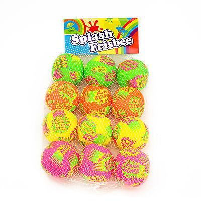 12 Multi-Color Water Splash Balls Grenades Bombs Summer Pool Beach Toy Fun