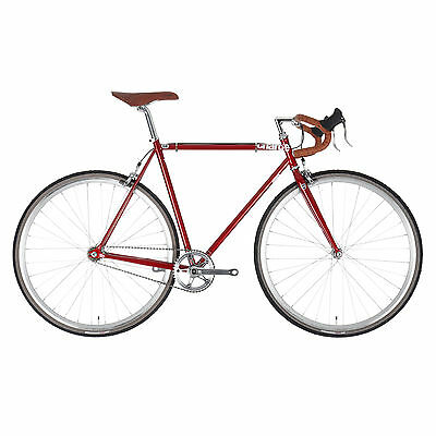 The bike is a reliable and speedy method of travel