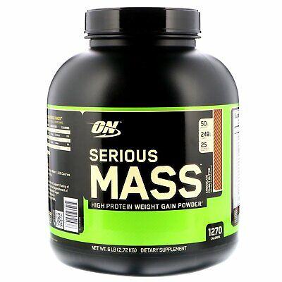 Optimum Nutrition Serious Mass Diet Supplement, Chocolate Pe