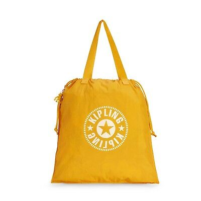 Kipling Foldable Shopper Bag NEW HIPHURRAY L FOLD  LIVELY YELLOW FW18 RRP £39