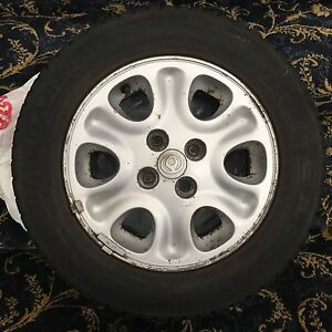 Mazda MX3 Rims and Winter Tires 4x