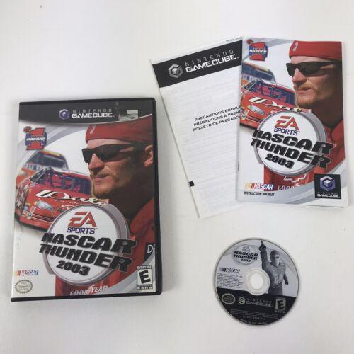 Nintendo GameCube NASCAR Thunder 2003  Game Complete