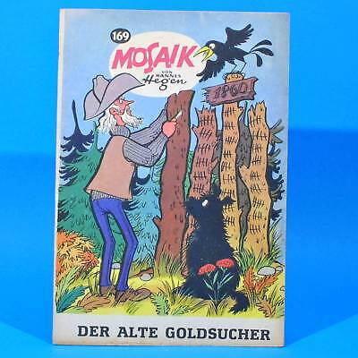 Mosaik 169 Digedags Hannes Hegen Originalheft | DDR | Sammlung original MZ 6