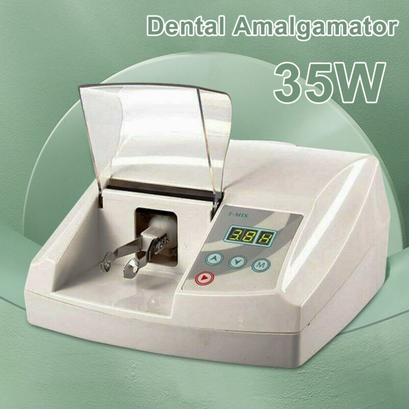 IMIX High Speed Digital Amalgamator Amalgam Mixer Capsule Dental Lab Equipment