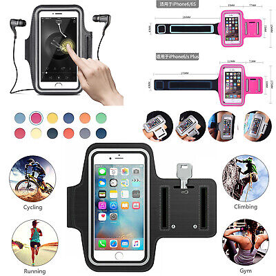 For Apple iPhone Gym Running Jogging Sports Armband Holder For Various Phone UK