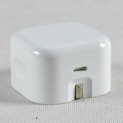 Genuine Apple 18W USB Type C Mains Folding Travel Wall Charger Adapter UK Plug