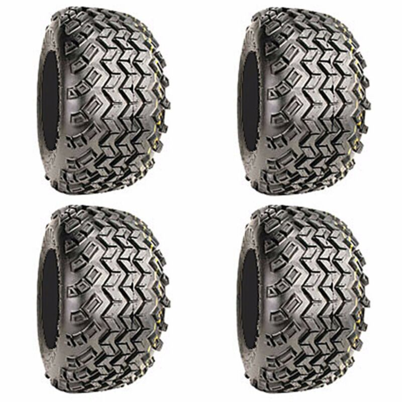 Golf Cart Tires Set of 4 22x11-10 Excel Sahara Classic 4Ply All Terrain
