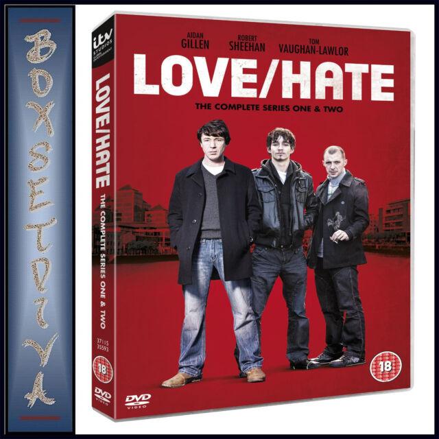 LOVE HATE - SERIES 1 & 2 *BRAND NEW DVD BOXSET**