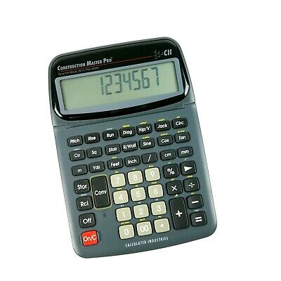 Calculated Industries Construction Master Pro with Trig Desktop - 44055