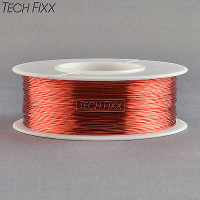 Magnet Wire 30 Gauge AWG Enameled Copper 650 Feet Coil Winding 155°C Red