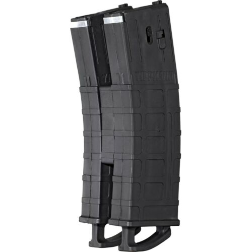 Tippmann TMC Magazine 2-Pack W/ Coupler Black - Paintball