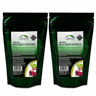 Beet Root Powder 100% Pure Contains Betaine Vitamins and Minerals 1LB