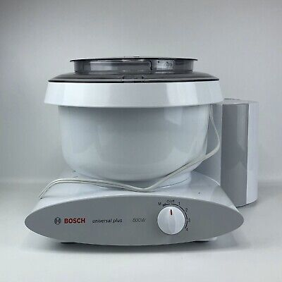 Bosch MUM6N10UC Universal Plus Stand Mixer 800W w/ Bread Hook and Whisks