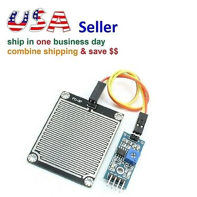 Rain Sensor Water Raindrops Detection Humidity Module For Arduino Raspberry Pi