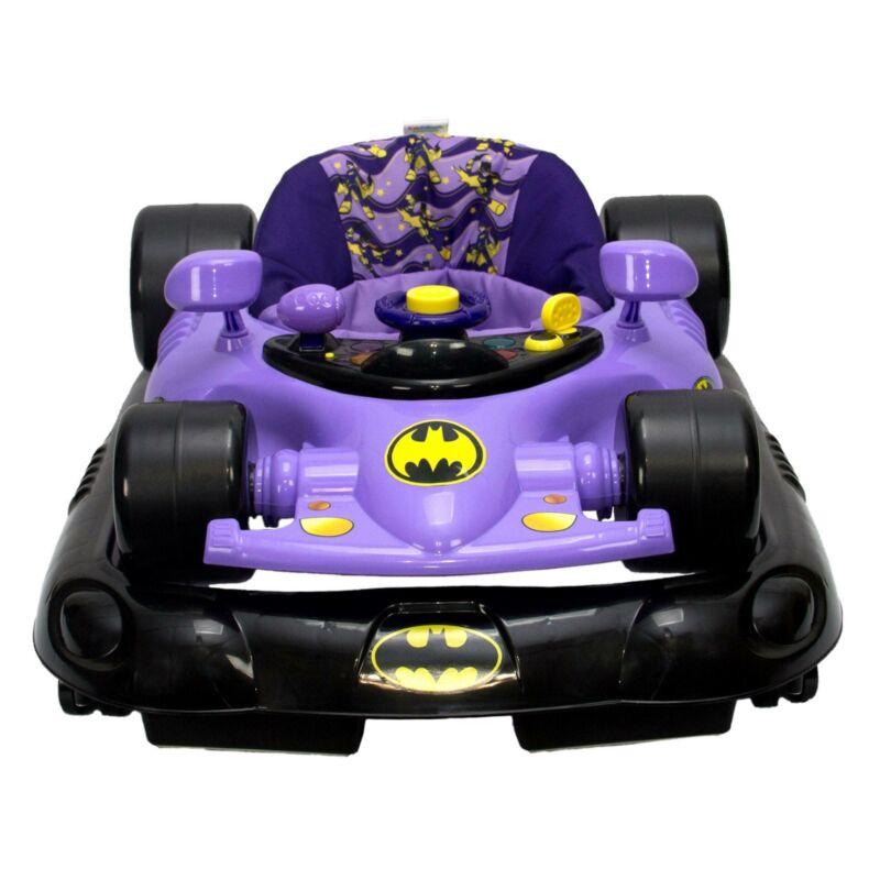 Kids Embrace Batgirl Baby Activity Station Race Car Walker with Lights & Sounds