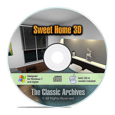 Sweet Home 3D Interior Design House Architect Software, Kitchen Bathroom CAD F15