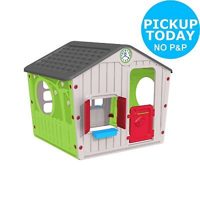 Chad Valley Indoor/Outdoor Plastic Wendy House - Multicoloured