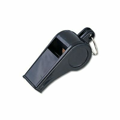 MacGregor Black Plastic Whistles - 1 Dozen