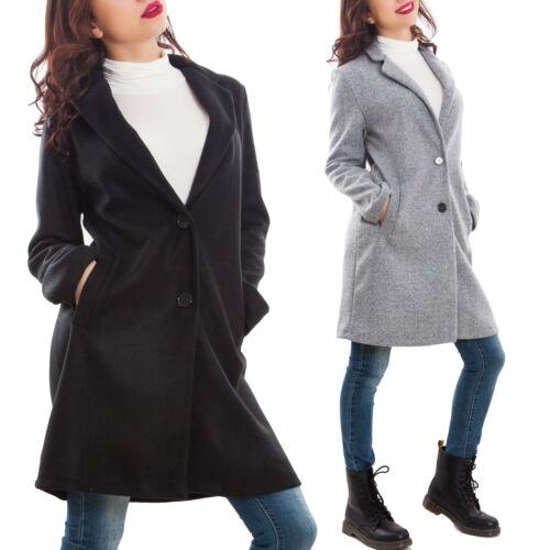 Cappotto donna monopetto giaccone caldo giacca invernale sexy nuovo CJ-31751