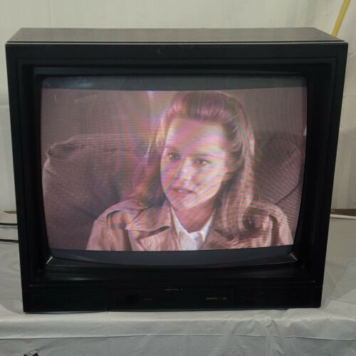 """Zenith 25"""" TV CRT Audio Out A/V In MWL2553Y 90"""
