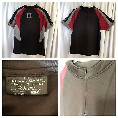 The Hunger Games Training Shirt District 12 NECA Cosplay Replica Costume - The Hunger Games 2 Kostüm