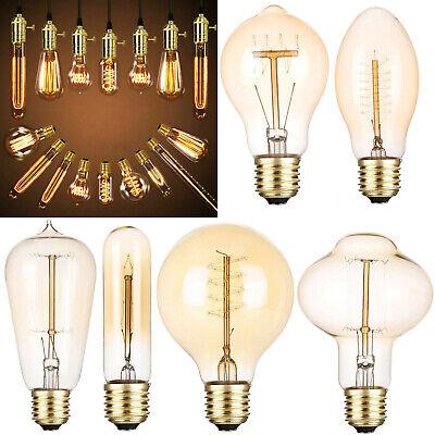 Deco Led (Vintage Industrielle Retro LED Edison Glühlampe E27 40W Licht Deco Glühlamp 220V)
