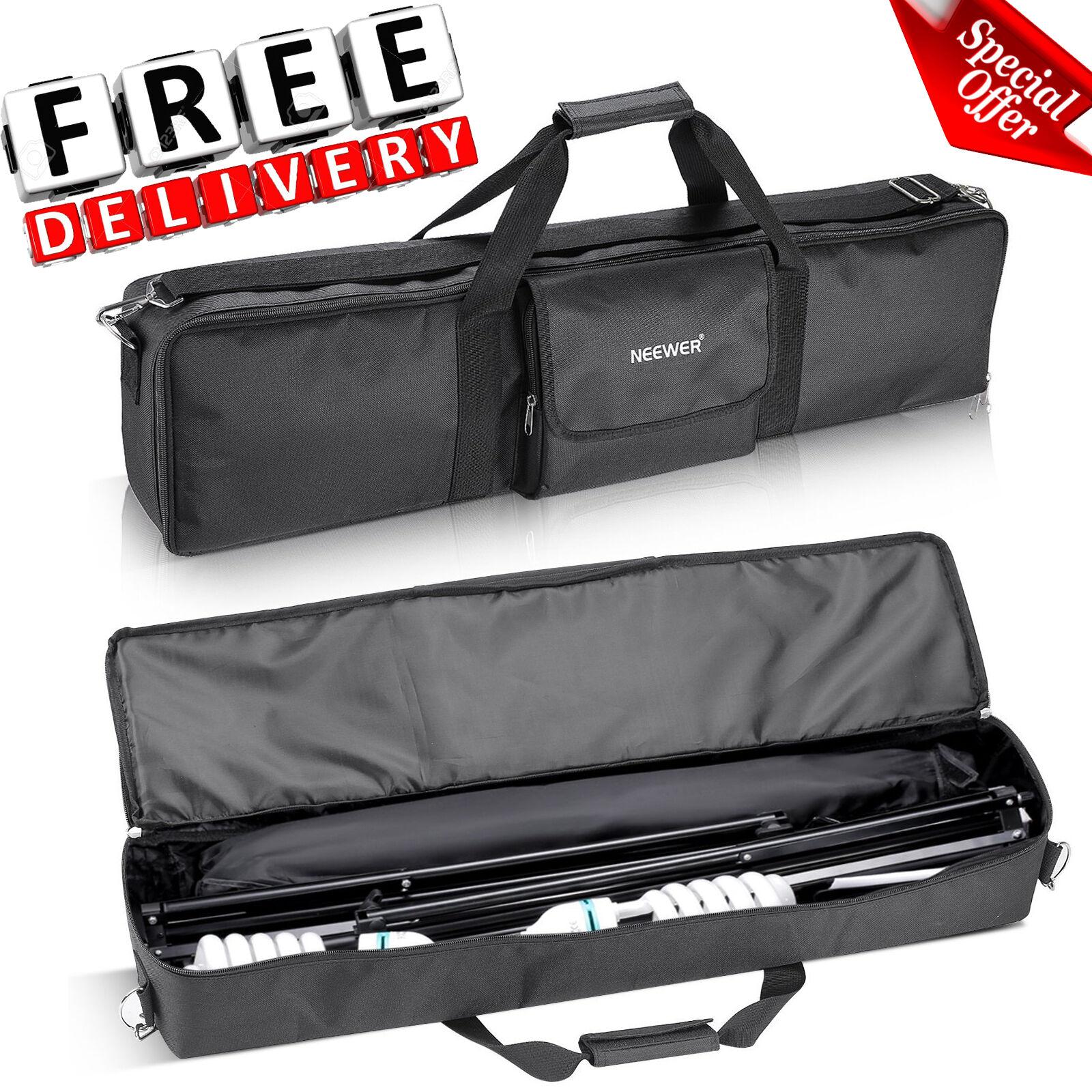 Photo Studio Lighting Kit Carry Bag Photography Equipment Ca