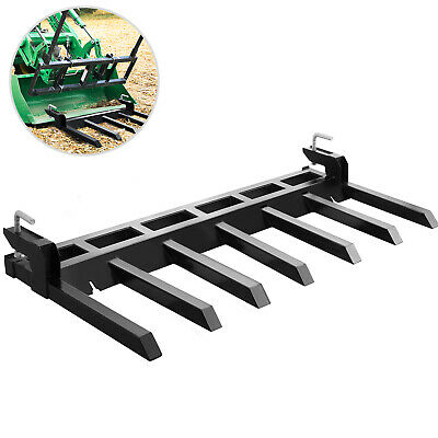 Debris Forks Clamp-on Forks For Tractor For 72 Inch Buckets Tractor Attachment