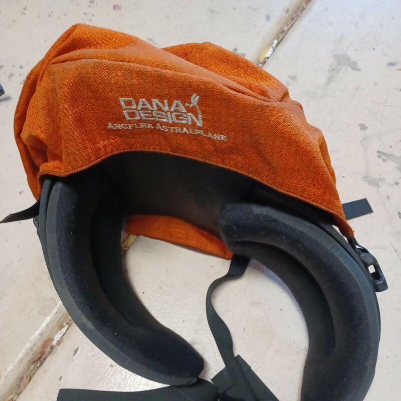 Dana Design Arcflex Alpine Backpack Brain Top Lid Orange with belt