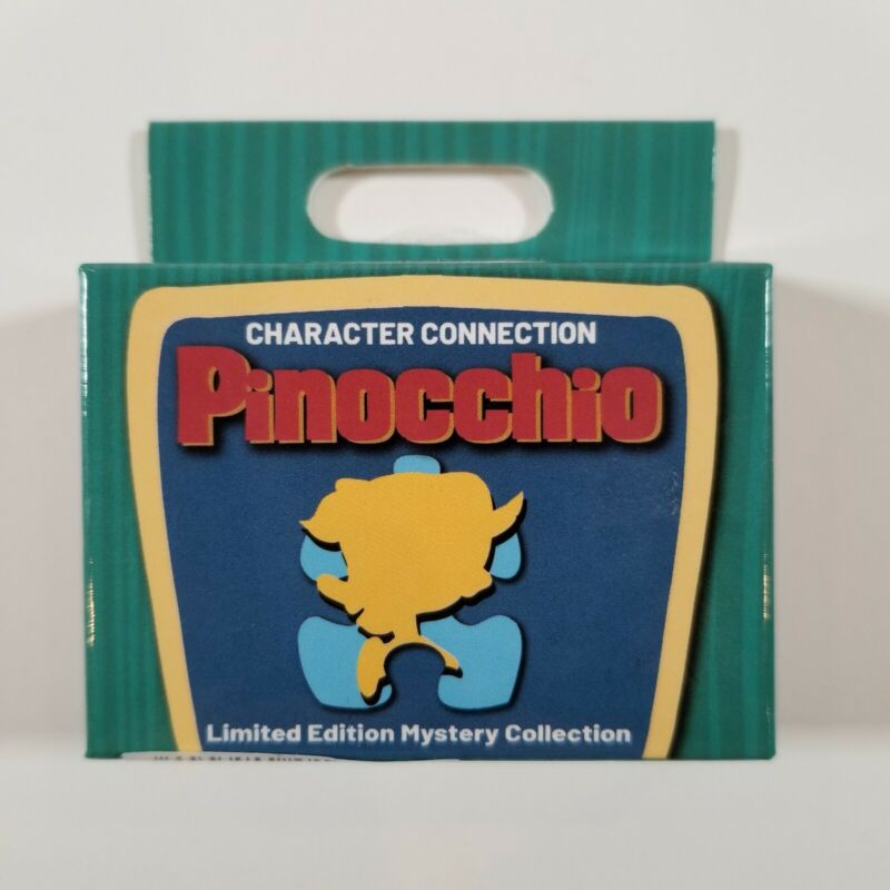 Disney Character Connection Blind Box Limited Edition Pin Pinocchio New in Box