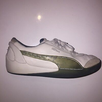 Alexander McQueen Men's Puma White Trainers Shoes Size 44/ UK 10