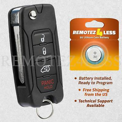 Dodge Keyless Entry Remote - Keyless Entry Remote for 2008 2009 2010 2011 2012 2013 Dodge Avenger Car Key Fob