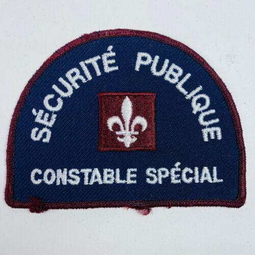 Special Constable Public Security Canada Patch (A1)