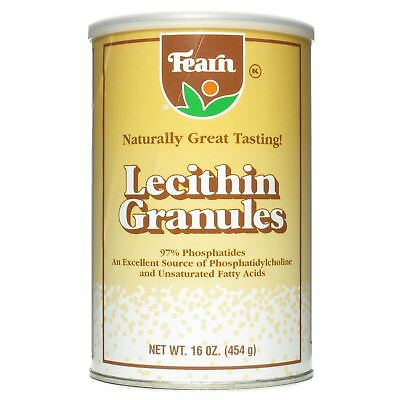 Fearn Natural Foods Lecithin Granules   16 Oz  Pack 1