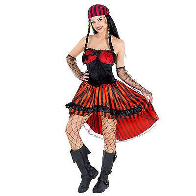 Frauenkostüm Piratin Pirat Kostüm Seeräuber sexy Piratenbraut Fasching Karneval