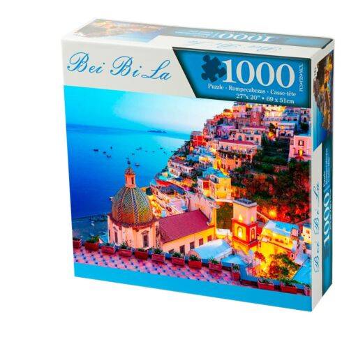 Jigsaw Puzzle 1000 Pieces | Large Puzzle Size 27*20 Inch | Twilight Sea Sight