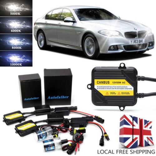 H7 XENON HID LIGHT CONVERSION KIT ERROR FREE NO FLICKER FOR BMW 5 Series F10 55W