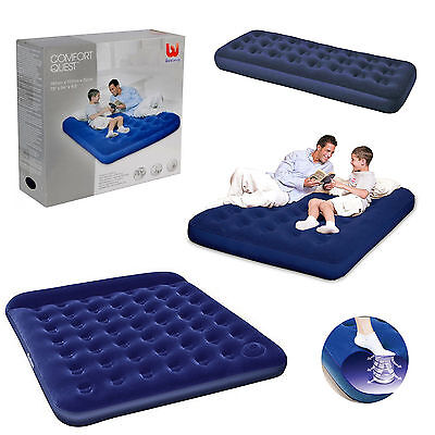 Single Double Queen King Size Camping Mattress Blow Pump Up
