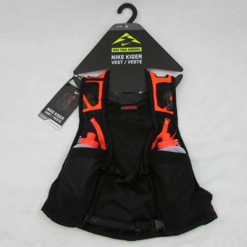 Nike Trail Kiger Vest Running Black & Orange $185 Retail