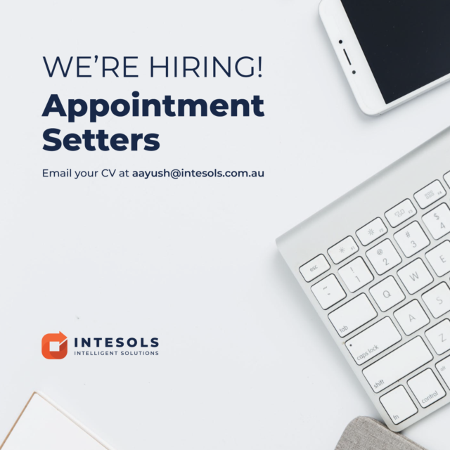 Hiring Appointment Setters Sales Representative