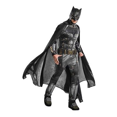 Adult Men's Grand Heritage DC Justice League Superhero Tactical Batman Costume