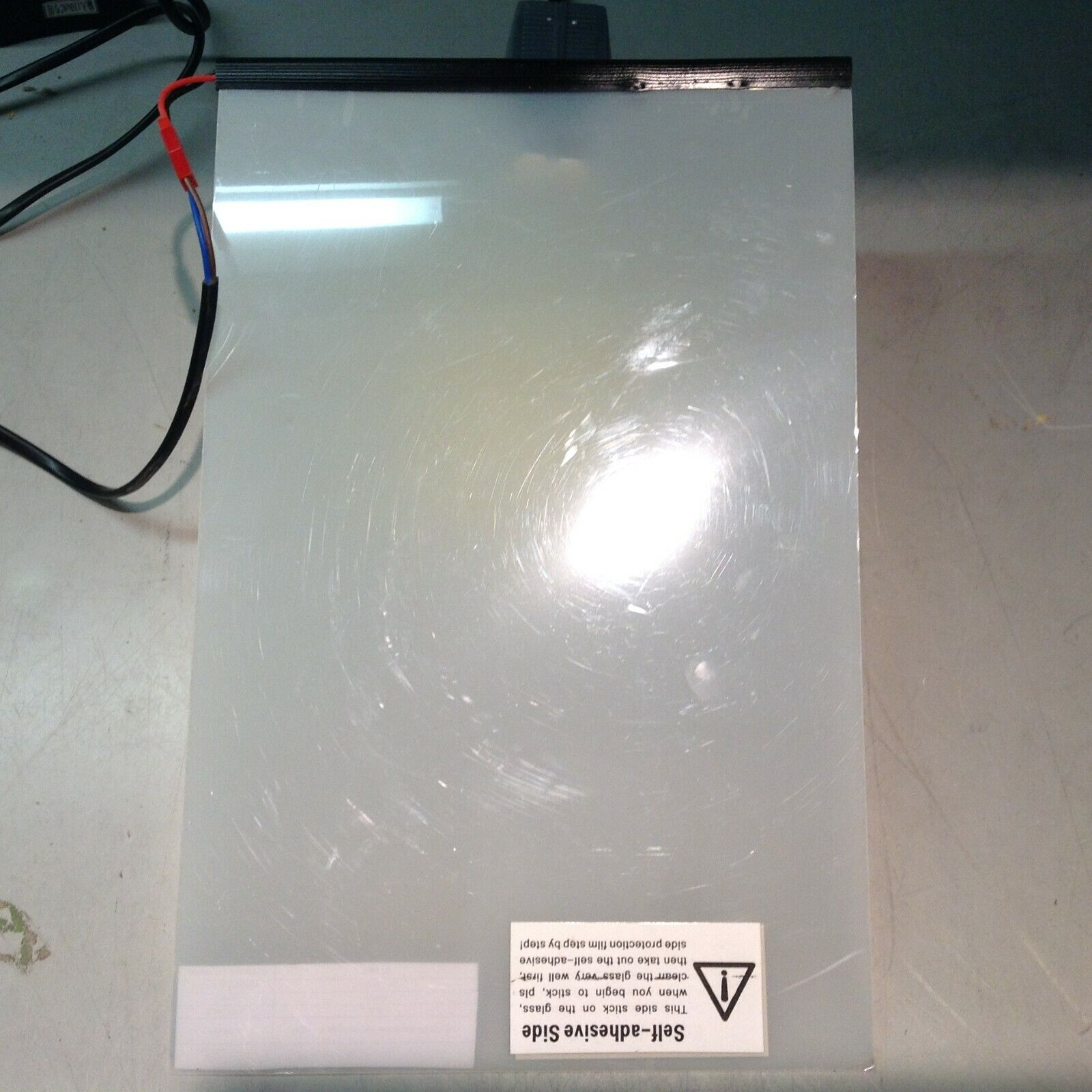 PDLC Inverter A4 8.3 X 11.7 Inches Smart Glass Switchable Glass Electrochromic - $77.42