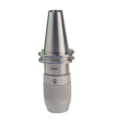 Icarbide 58 Cat40 12 Integrated Precision Ball Bearing Keyless Drill Chuck Usa