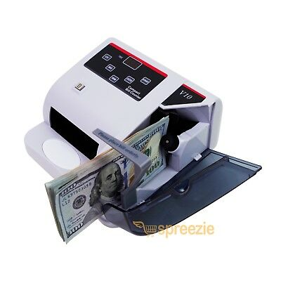 Money Counter Bill Counting Machine Cash Banknote Currency Uv Light Mg Watermark