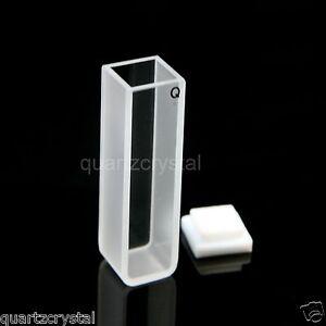 Quartz Cuvettes 10mm cuvette cell spectrometer  3.5 mL quartz cell quartz cells