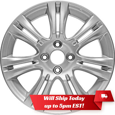 "New Set(4) 16"" Alloy Wheels Rims and Centers for 2009-2014 Honda Fit - 63990"