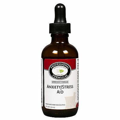 ANXIETY STRESS AID PROFESSIONAL FORMULAS DOGS CATS NATURAL PET SUPPLEMENTS PETS