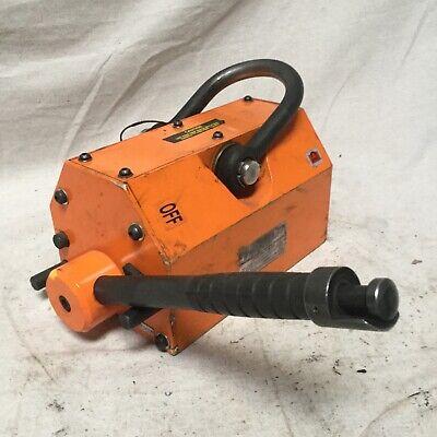 Eriez Rpl-25 Lifting Magnet 2500 Lb Cap 12-12 L
