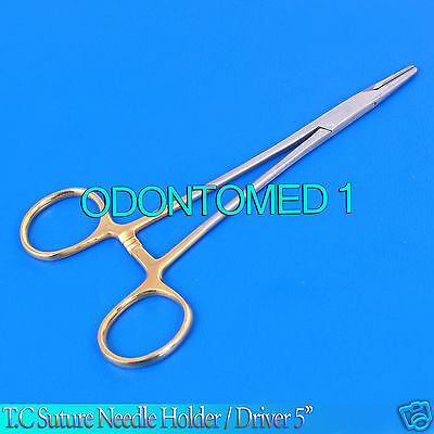 Suture Needle Holder Driver 5 T.c Veterinary Instruments