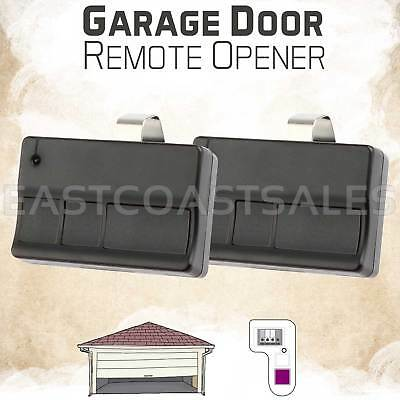 2 For Chamberlain 373LM 374LM 3 Button Garage Door Opener Remote Control 315MHz